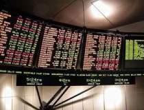 Bursa a revenis pe plus la...