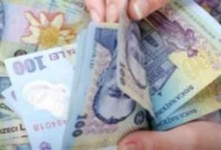 Cursul fluctua usor peste 4,46 lei/euro la finalul zilei