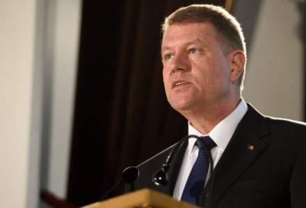 Presedintele Klaus Iohannis solicita Parlamentului reexaminarea Legii offshore