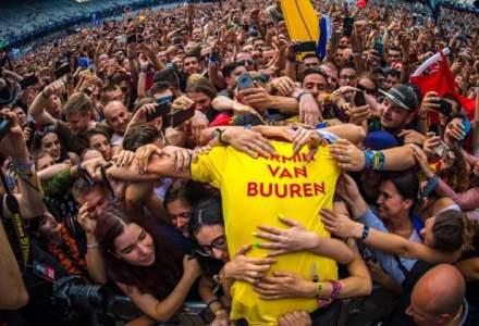 """Armin van Buuren a inchis cea de-a 4-a editie a festivalului Untold cu un """"maraton de 7 ore"""""""