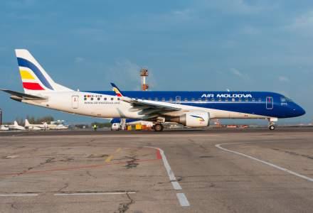 Inca un operator aerian national este in dificultate. Air Moldova a fost scoasa la vanzare