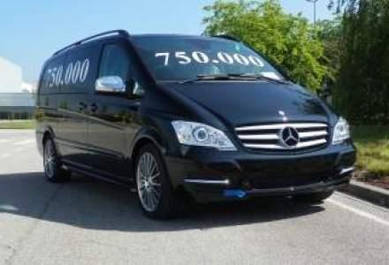 Mercedes-Benz a produs 750.000 de masini Vito si Viano in Spania