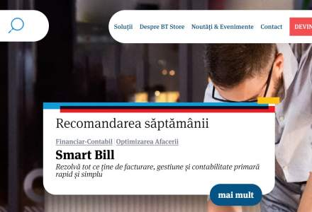 """Banca Transilvania a lansat BT Store, un fel de """"magazin online"""" cu solutii de management si gestiune pentru afacerile antreprenoriale"""