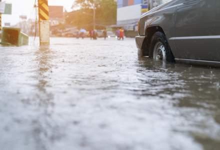 Cod galben de inundatii pentru rauri din judetele Covasna, Brasov si Buzau, pana la 23:00