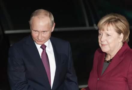 Niciun acord la primul summit Merkel - Putin din ultimii patru ani