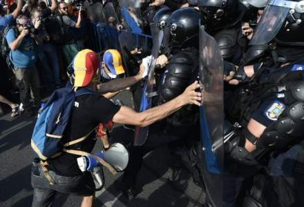 Un protestatar ar fi murit la o saptamana dupa ce a fost gazat in Piata Victoriei