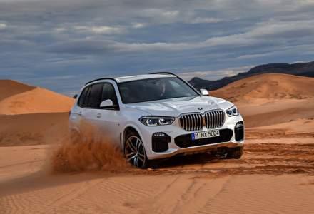Preturi BMW X5 in Romania: noua generatie pleaca de la aproape 69.000 de euro