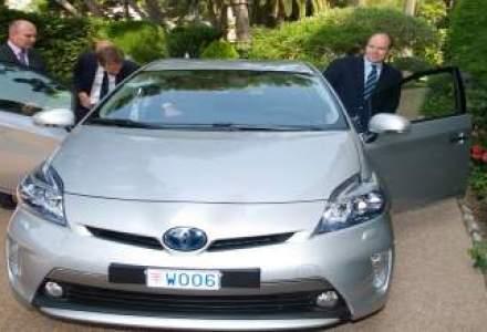 Primul Prius Plug-in Hybrid a fost livrat Printului Albert II de Monaco