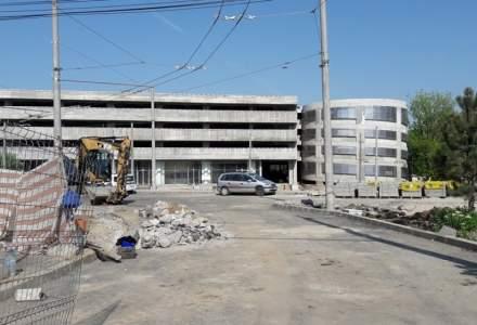 Parcarea de la Straulesti este gata, dar asteapta finalizarea lucrarilor la sistemul de taxare