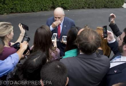 Rudy Giuliani a recunoscut ca a primit bani pentru a scrie scrisoarea catre Iohannis