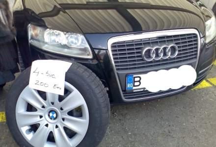 Masini cu daune de zeci de mii de euro, la vanzare in Romania