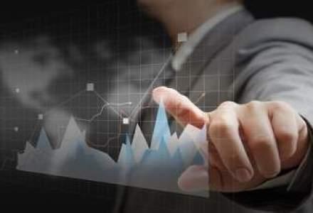 Bursa scade pe un rulaj redus