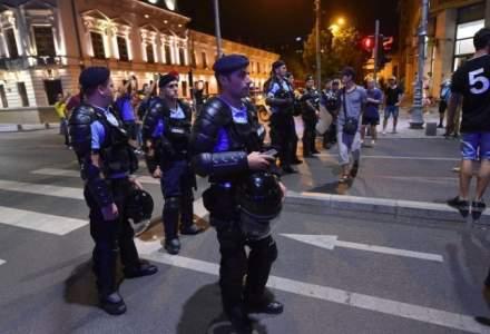 Jandarmeria Romana a sesizat DIICOT in legatura cu protestele violente din 10 august