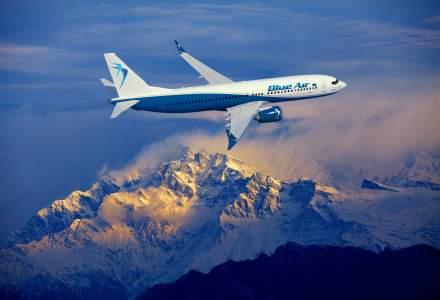 Cea mai aglomerata vara la Blue Air: compania a transportat 1,5 milioane de pasageri