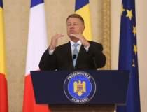 Klaus Iohannis: Finalizarea...
