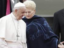 Papa ii critica la Vilnius pe...