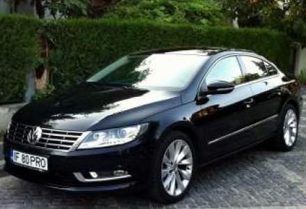 Test Drive Wall-Street: Volkswagen CC restilizat