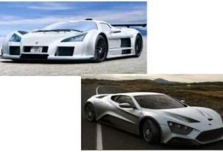Top 10: cele mai rapide masini de pe glob