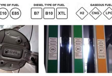 Benzinariile vor avea simboluri noi la pompa peste 10 zile. Iata cum arata si ce inseamna fiecare