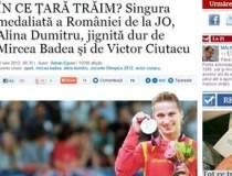 Alina Dumitru, singura...
