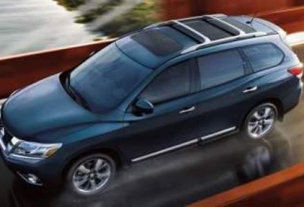 Primele poze oficiale cu noul Nissan Pathfinder