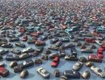 Piata de masini second-hand...