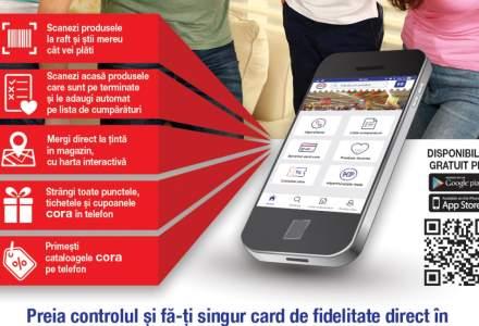 Cora lanseaza aplicatia care te ajuta la cumparaturi in magazin, disponibila gratuit in Google Play si App Store