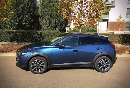 Test drive cu Mazda CX-3: noi imbunatatiri au ajuns pe crossover in 2018