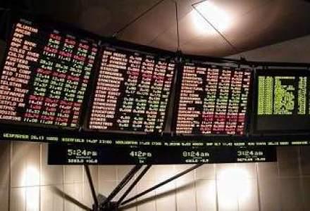 Bursa a scazut in linie cu pietele externe