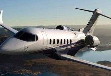 Cum arata avionul privat de 17 MIL. dolari care va aparea in 2013
