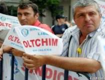Angajatii Oltchim protesteaza...
