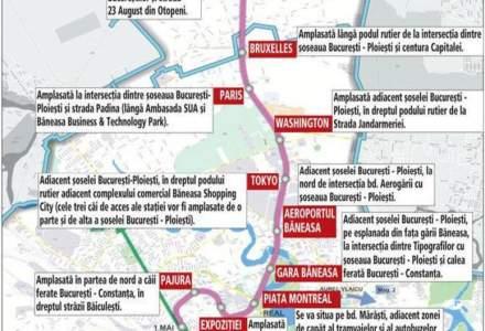 Metroul pana la Otopeni, finantat de Comisia Europeana doar pe jumatate. Licitatia, lansata in primul trimestru din 2019