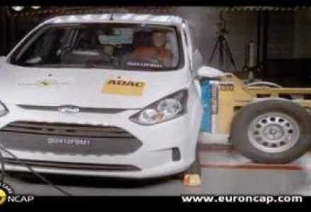 Video: Euro NCAP a testat sase modele noi. Ford B-MAX obtine 5 stele
