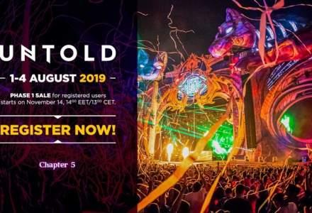 Untold 2019: a noua runda de abonamente se lanseaza marti, de la ora 14:00. Cat vor costa biletele