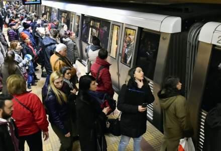 Sindicalistii de la metrou propun administratiei o crestere salariala de 25%