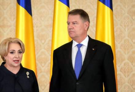 Klaus Iohannis si Viorica Dancila, fata in fata la sedinta solemna dedicata celebrarii Centenarului Marii Uniri