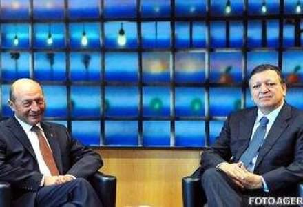 Basescu, dupa intalnirea cu Barroso: Institutiile statului au rezistat socului politic
