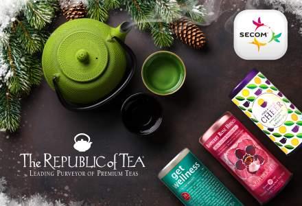 Secom isi extinde portofoliul cu brandul de ceaiuri The Republic of Tea