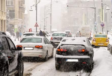 PMB: Traficul rutier din Capitala se desfasoara in conditii normale de iarna