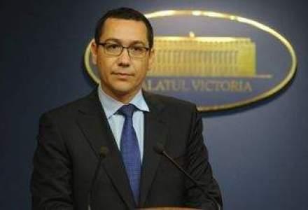 Ponta: Nu exclud varianta ca privatizarea Oltchim sa NU fie finalizata