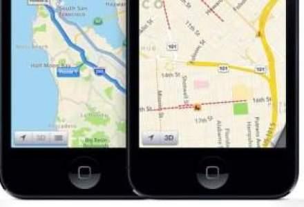 Serviciul de harti al Apple, victima a unui conflict cu Google