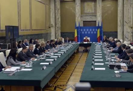 O noua sedinta de guvern. Nimic despre OUG privind masurile fiscale pe agenda