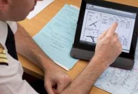 Pilotii Air France dau manualele pe iPad