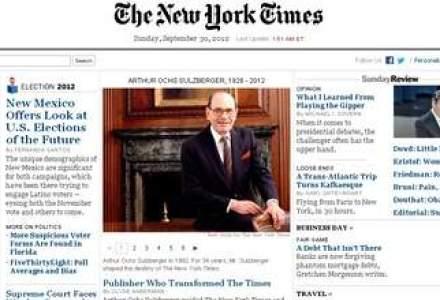 Omul care a condus 34 de ani New York Times a murit