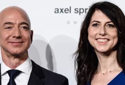 Jeff Bezos se alatura unui grup select de miliardari dupa divortul de MacKenzie Bezos, cu cele mai scumpe divorturi din lumea de business