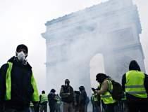 Protestul vestelor galbene in...