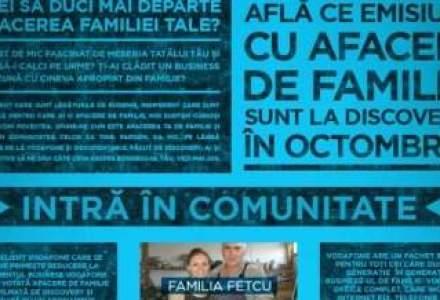 Ai un business de familie? Vodafone Romania si Discovery Channel te premiaza
