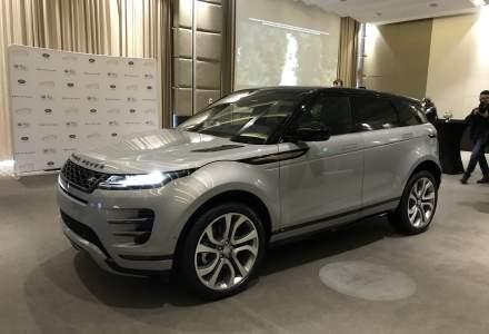 A doua generatie Range Rover Evoque a fost lansata pe piata din Romania