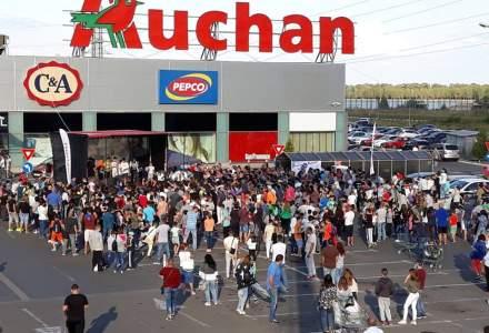 Reactia retailerului Auchan dupa amenda de 7,8 milioane euro primita de la Consiliul Concurentei