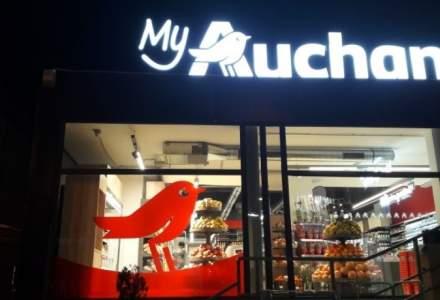 Auchan vrea sa extinda reteaua magazinelor din benzinariile Petrom